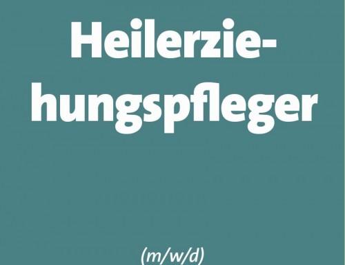 STELLENANGEBOT HEILERZIEHUNGSPFLEGER